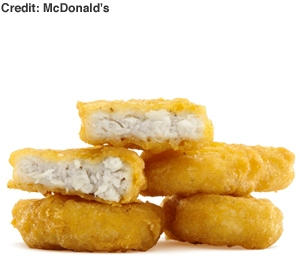 Some people really do love their Mcnuggets