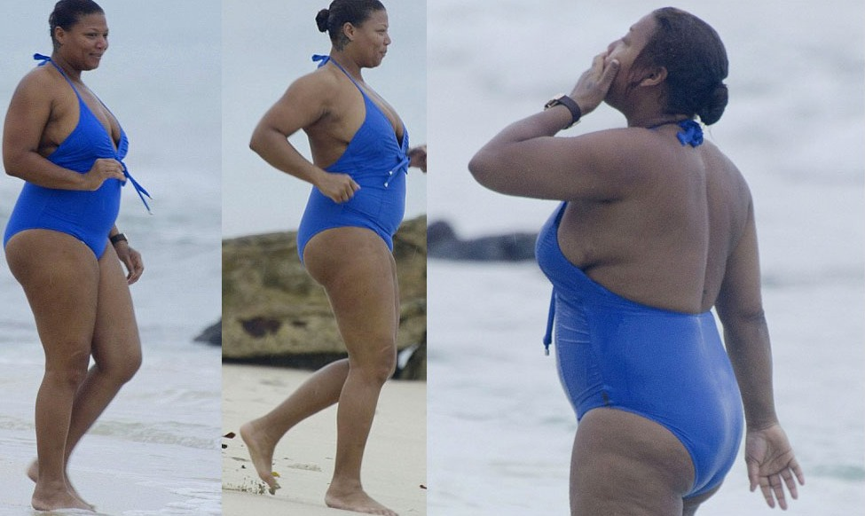 Queen Latifah Swimsuit Queen latifah in a swimsuit: are you turned on ... Queen Latifah And Alicia Keys